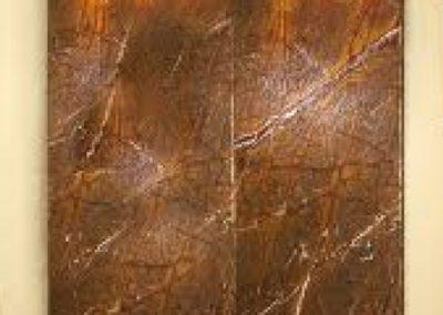 Fountain Rainforest Brown Marble