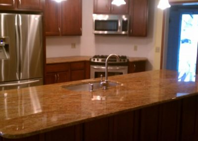 Kitchen Island and Countertops
