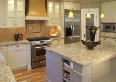 Ornamental Kitchen with Island