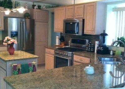 Stone Kitchen Island & Countertops